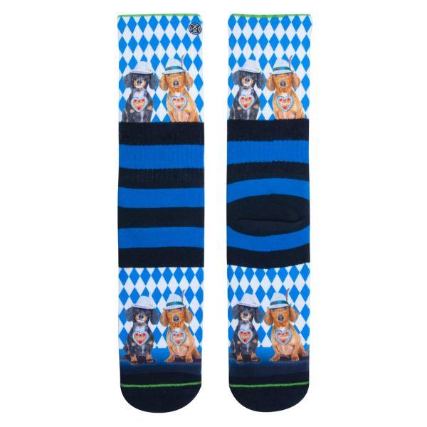 XPOOOS Socken Bayrische Dackel