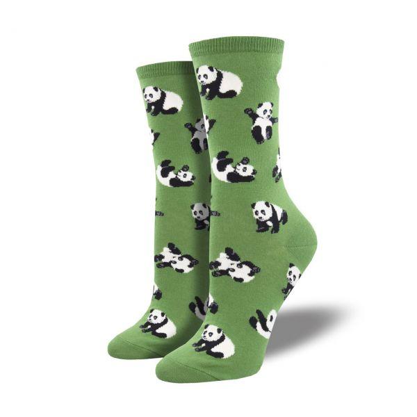 Socksmith Socken Pandas grün