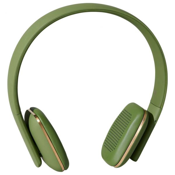 Kreafunk Kopfhörer aHead olivgrün front