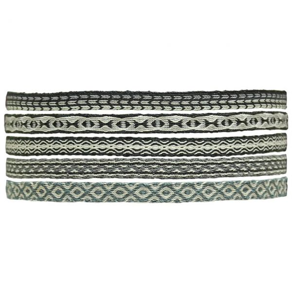 LeJu Armband MT80 4er Set schwarz