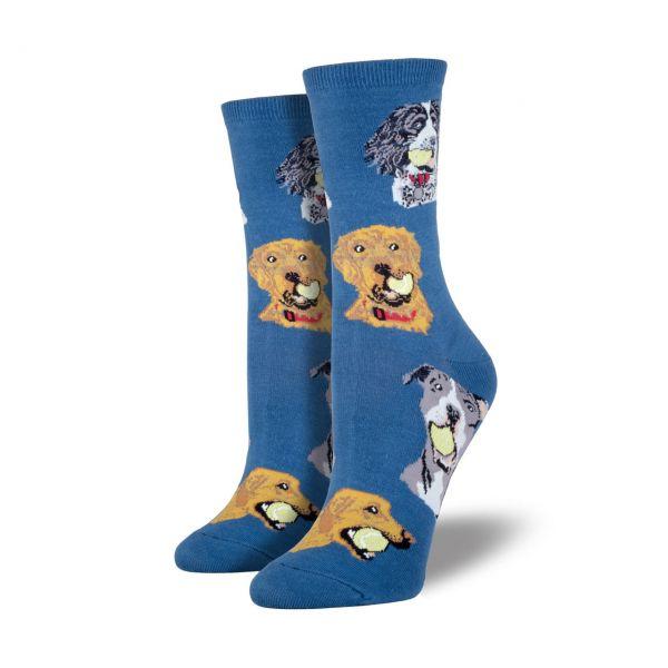 Socksmith Socken Hunde blau