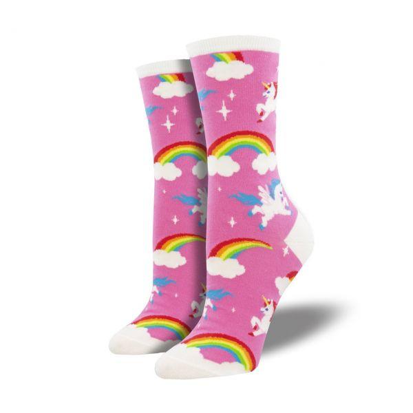 Socksmith Socken Einhorn pink