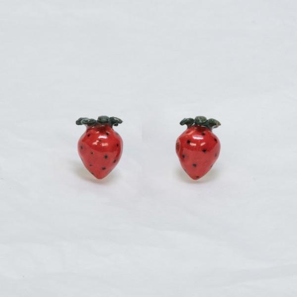 Ohrstecker Erdbeeren von AndMary