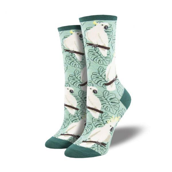 Socksmith Socken Kakadus grün