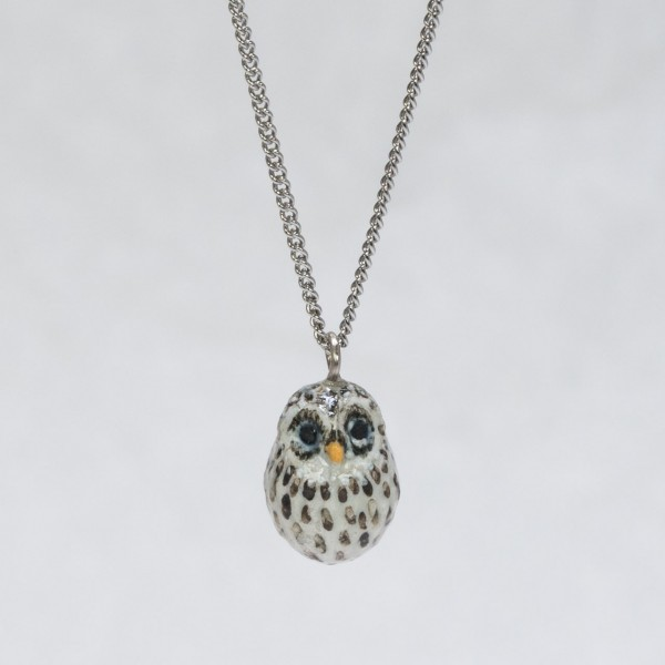 Halskette Schnee-Eule von AndMary