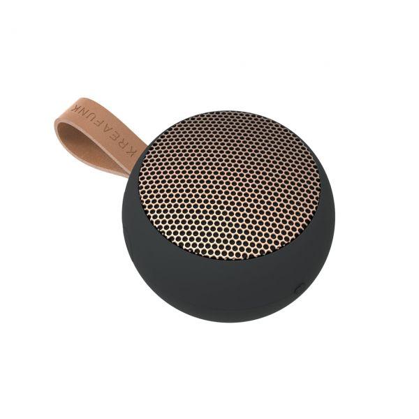 Kreafunk Bluetooth-Speaker aGo black Seite oben
