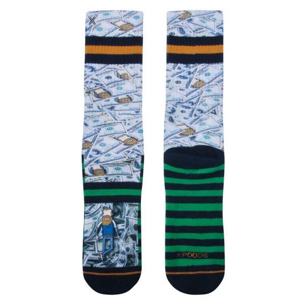 XPOOOS Socken Cash