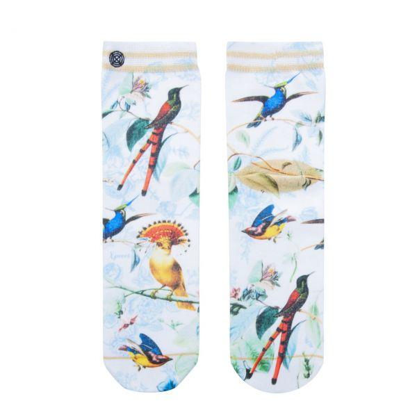 XPOOOS Socken Vögel