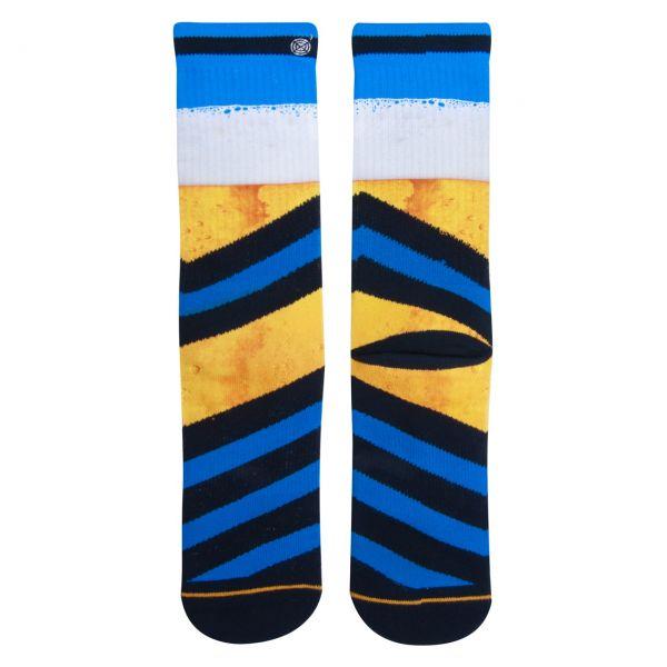 XPOOOS Socken Bierblume