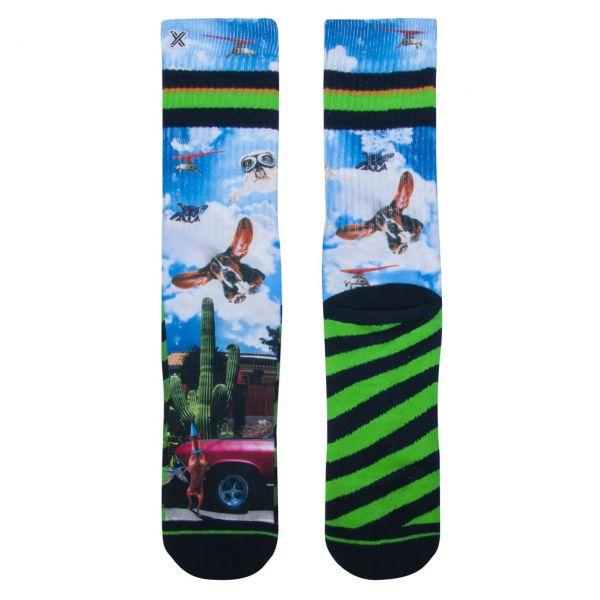 XPOOOS Socken Flughunde