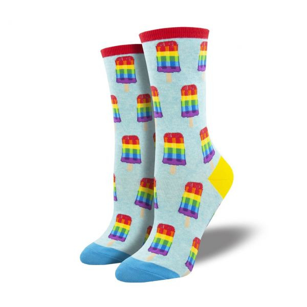 Socksmith Socken Regenbogenglace blau