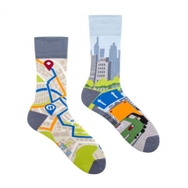 Spox Sox Socken Stadtplan