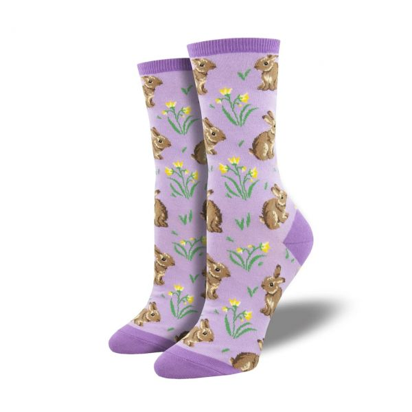 Socksmith Socken Blumenwiese lila