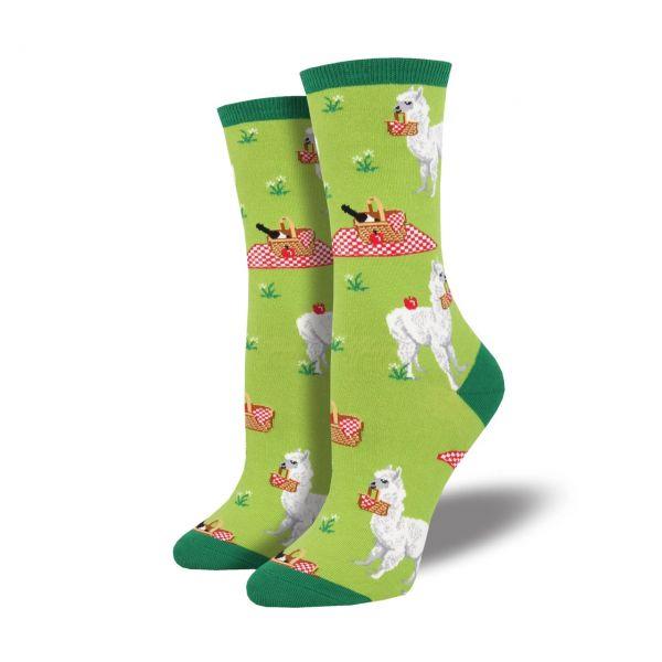 Socksmith Socken Alpaca grün