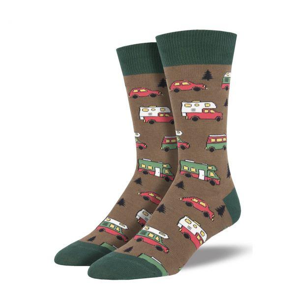 Socksmith Socken Camper braun