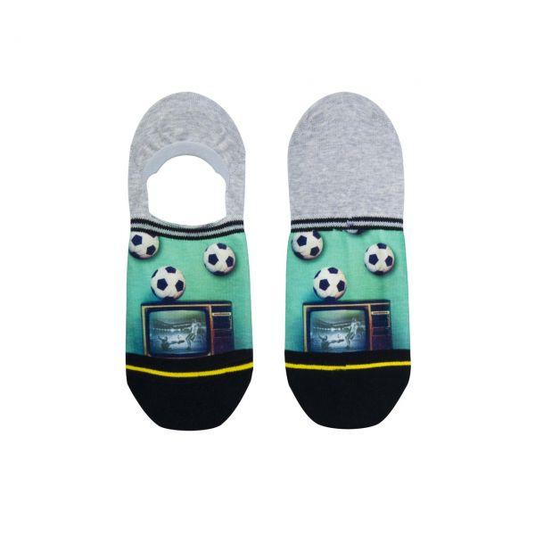 XPOOOS Socken Fussball low